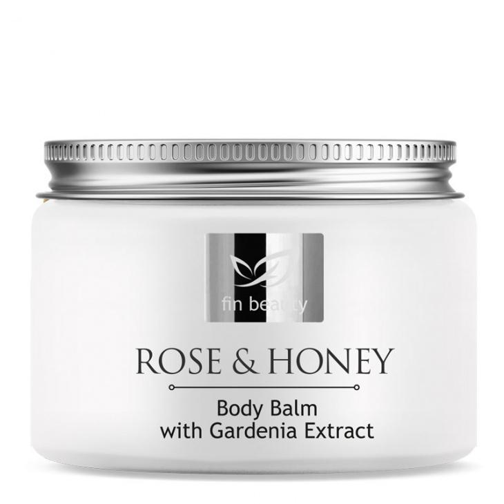 Telový balzám s extraktami z ruže a medu