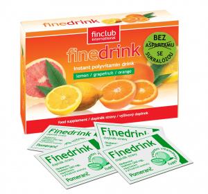 Finedrink - Pomaranč 0,2 l