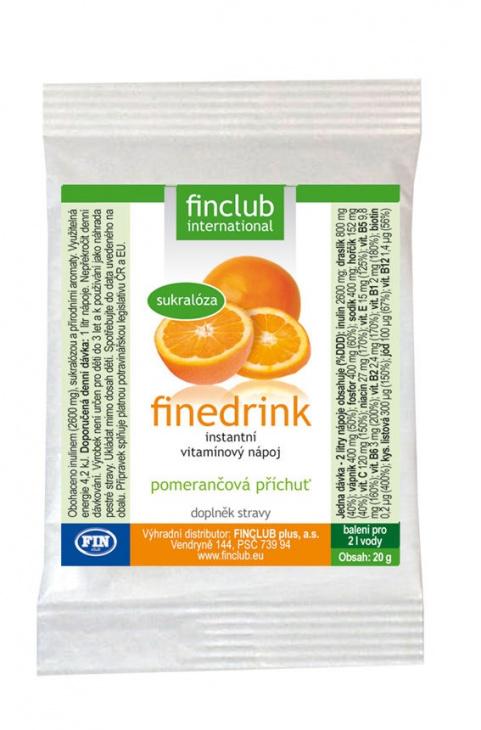 Finedrink Pomaranč 2 l