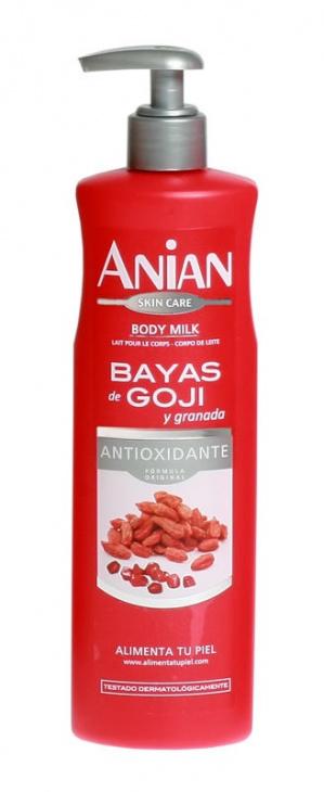 Hydratačné telové mlieko ANIAN