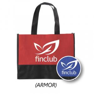 Nákupná taška s potlačou ARMOR