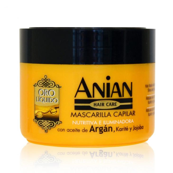 Vlasová maska s arganovým olejom