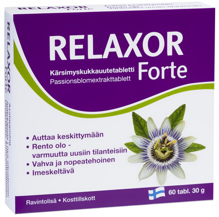 fin Relaxor Forte 60 tbl.